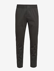 Slim Elastic-Waist Pant - casual - city grey