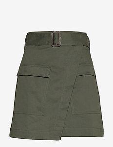 Utility Wrap Skirt - FLIGHT JACKET