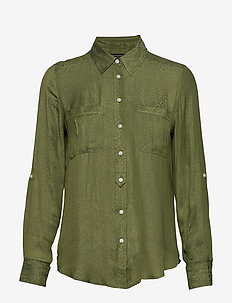 Dillon Classic-Fit Utility Shirt - ORGANIC OLIVE