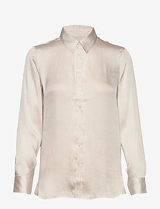 I DILLON SOFT SATIN - blouses à manches longues - snow day