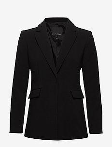 Sculpted-Fit Washable Blazer - vestes tailleur - black k-100