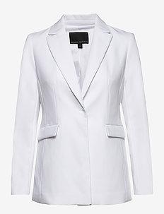 Sculpted-Fit Washable Blazer - tailored blazers - vwhite