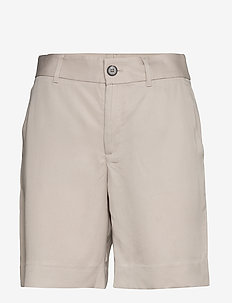 "High-Rise 8"" TENCEL™ Short - bermudas - chrome grey"