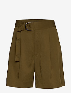 "High-Rise 6"" TENCEL™ Short - bermudas - cindered olive"