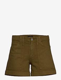 "Mid-Rise 4"" Utility Short - jeansowe szorty - cindered olive"