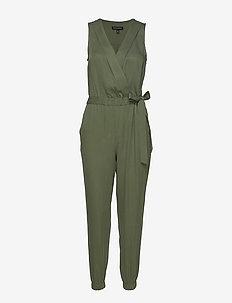 TENCEL™ Wrap Jumpsuit - jumpsuits - flight jacket