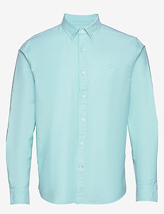 I UT LOGO OXFORD SOLID - basic skjorter - light blue