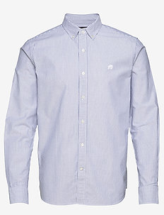 I UT LOGO OXFORD STRIPE - oxford skjorter - blue violet