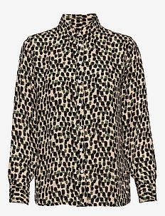Dillon Classic-Fit Shirt - chemises à manches longues - br spot dot cool