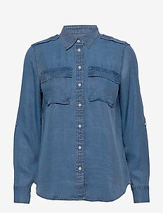 Dillon Classic-Fit TENCEL™ Utility Shirt - chemises en jeans - chambray sp00