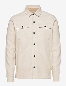 Twill Shirt Jacket - basic skjorter - oatmeal