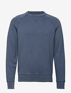 French Terry Sweatshirt - BLUE SHADOW
