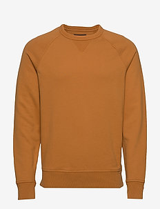 French Terry Sweatshirt - basic sweatshirts - candy caramel