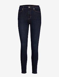 HR TRAVELER LEGGING BIG WAVE WASH - skinny jeans - dark wash