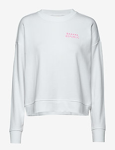 I BR LOGO SWEATSHIRT - sweatshirts - vwhite