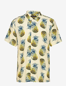 Slim Soft Resort Shirt - short-sleeved shirts - pineapple 638