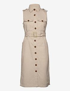 Heritage Bahia Dress - shirt dresses - transition cream