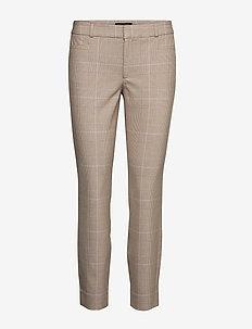 Mid-Rise Skinny Sloan Pant - spodnie rurki - sanded brown