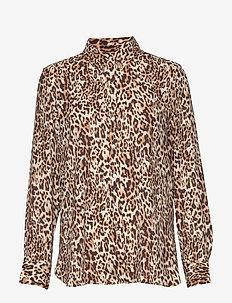 Dillon Classic-Fit Shirt - chemises à manches longues - vcheetah print