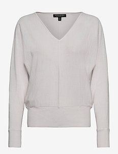 Washable Merino Dolman-Sleeve Sweater - truien - snow day