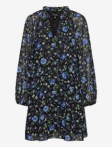 Floral Swing Dress - short dresses - princess stems