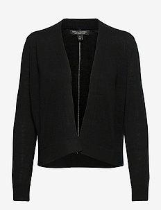 I MERINO OTD CARDIGAN - swetry rozpinane - black k-100