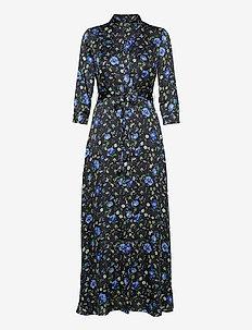 I SAVANNAH MAXI - FA20 - shirt dresses - blue floral