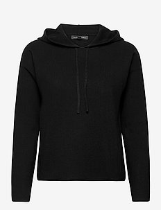 Sweater Hoodie - hoodies - black k-100