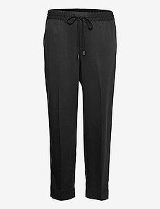 Slim TENCEL™ Pant - casual trousers - black