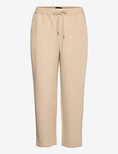 Slim TENCEL™-Linen Pant - casual trousers - khaki
