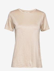 I SS Elevated Tee - t-shirts basiques - light ecru