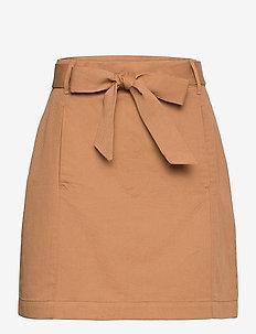 Utility Mini Skirt - korta kjolar - afternoon latte