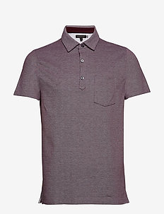 Don't-Sweat-It Polo - SECRET PLUM