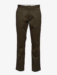 Aiden Slim Rapid Movement Chino - pantalons chino - caper green