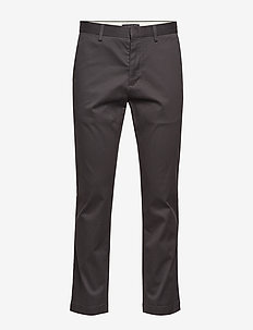 Aiden Slim Rapid Movement Chino - chinos - charcoal 1