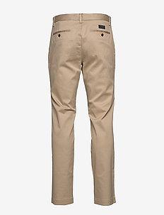 Aiden Slim Rapid Movement Chino - pantalons chino - khaki