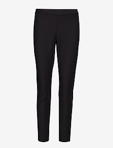 Devon Legging-Fit Washable Bi-Stretch Ankle Pant - BLACK
