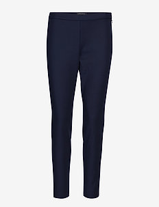 Devon Legging-Fit Washable Bi-Stretch Ankle Pant - NAVY