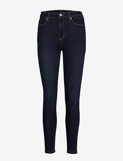 HR TRAVELER LEGGING BIG WAVE WASH - skinny jeans - dark wash