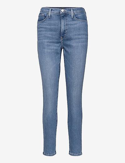 High-Rise Skinny Soft Sculpt Jean - skinny jeans - light wash