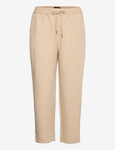 Slim TENCEL™-Linen Pant - casual byxor - khaki