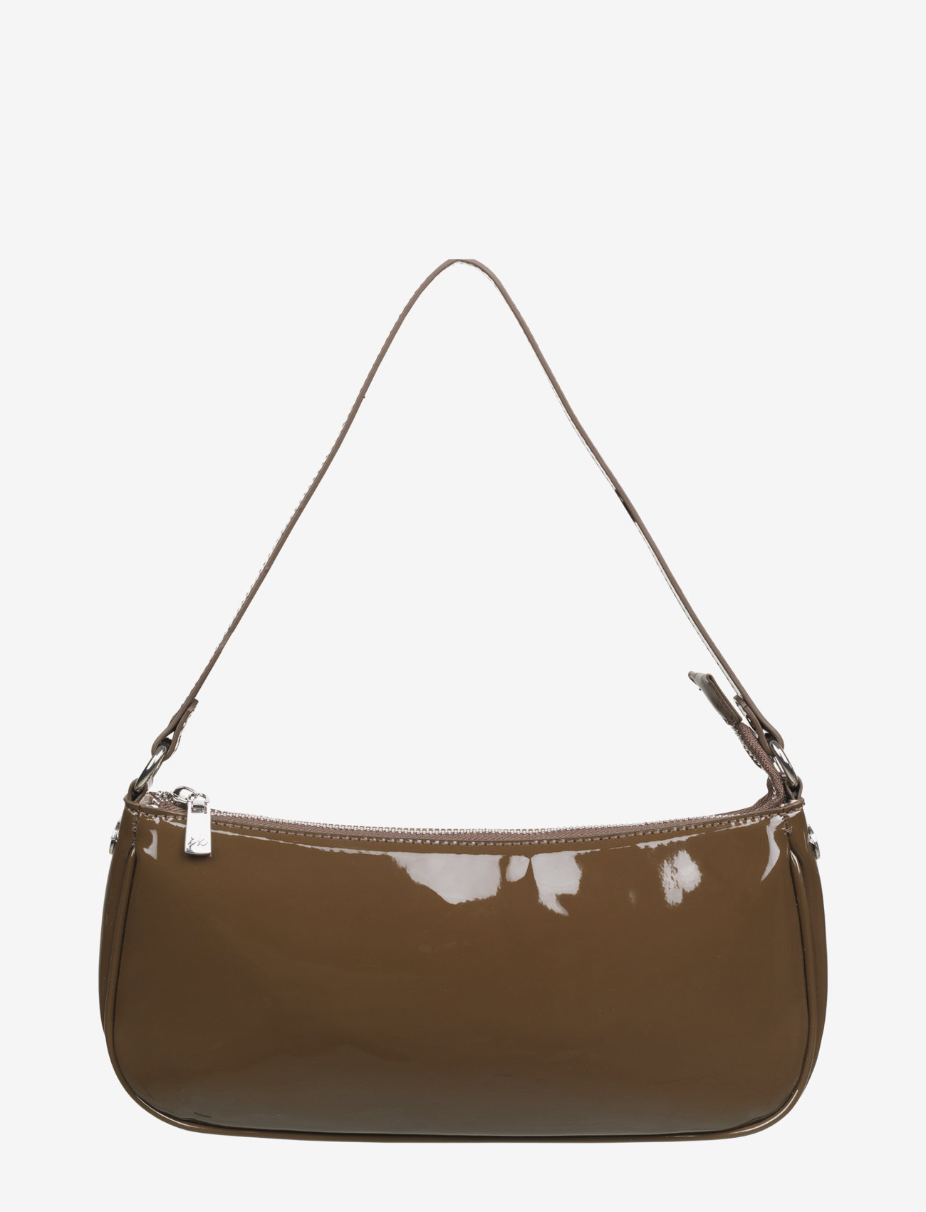 Barbara Kristoffersen by Rosemunde - Bag small - handväskor - dark chocolate silver - 1