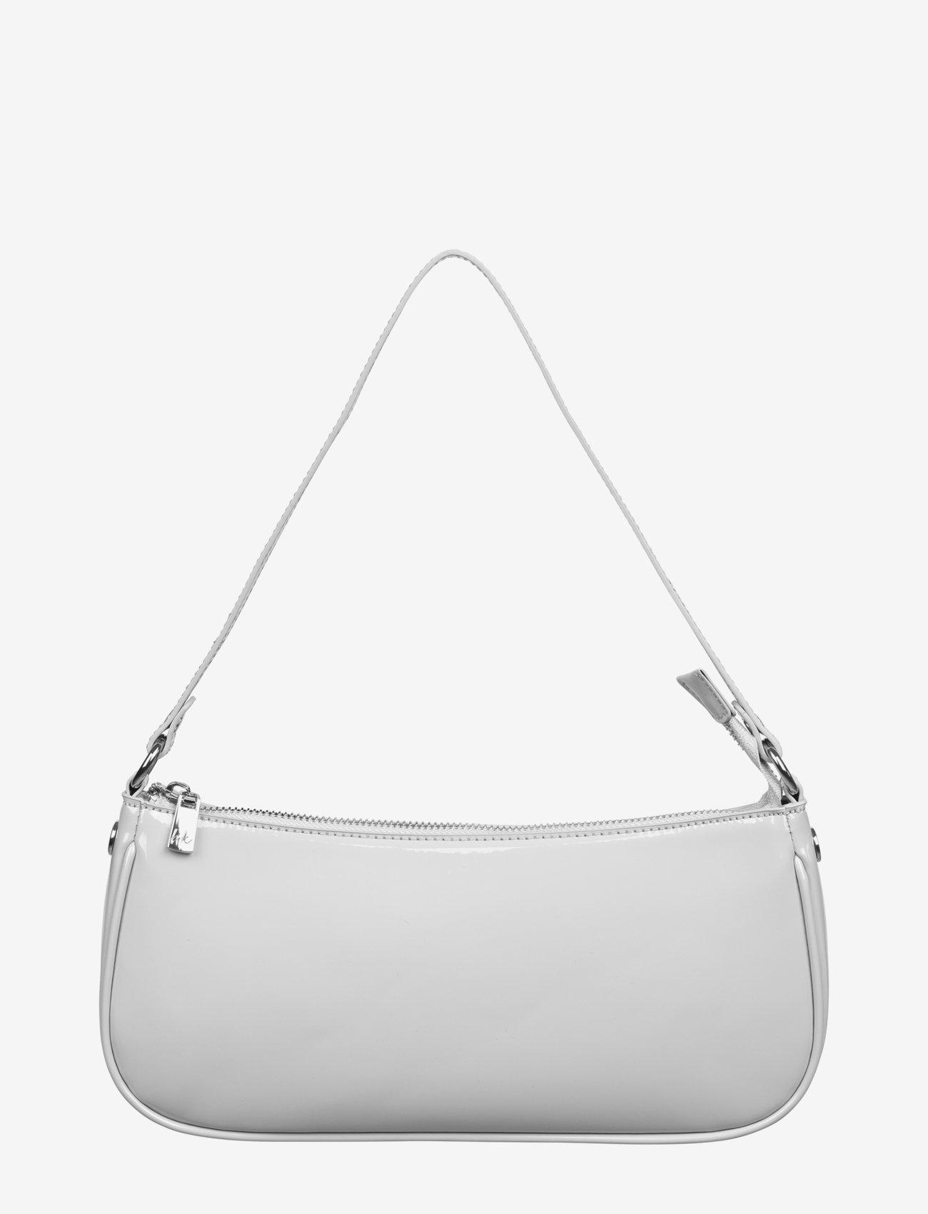 Barbara Kristoffersen by Rosemunde - Bag small - handväskor - light grey silver - 0