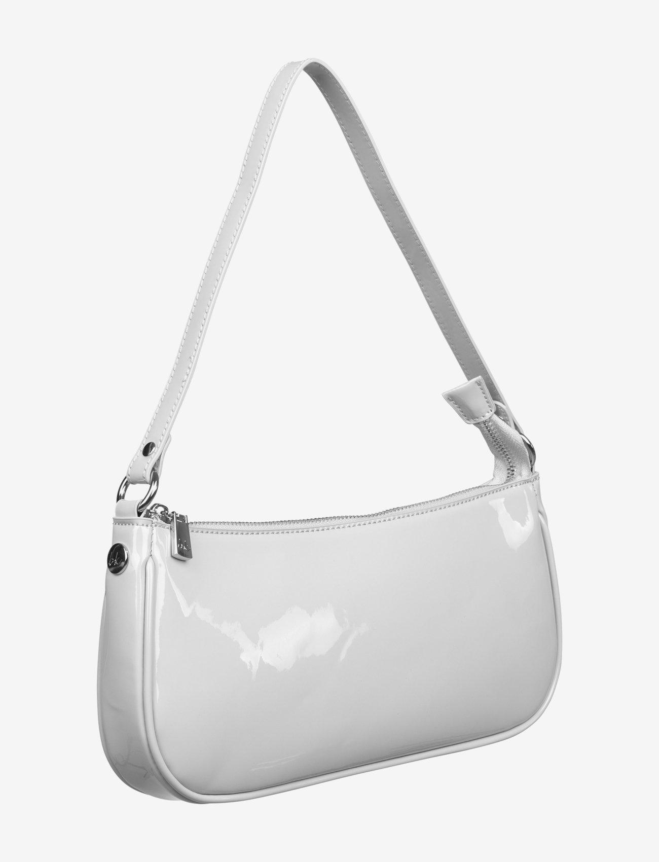 Barbara Kristoffersen by Rosemunde - Bag small - handväskor - light grey silver - 1