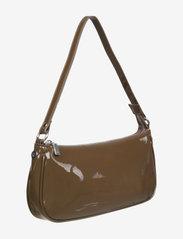 Barbara Kristoffersen by Rosemunde - Bag small - handväskor - dark chocolate silver - 2