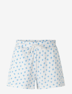 Shorts - casual shorts - white w/ heaven flower