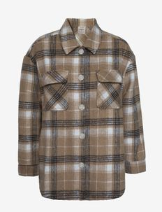 Shirt ls - pikkade varrukatega särgid - sesame check