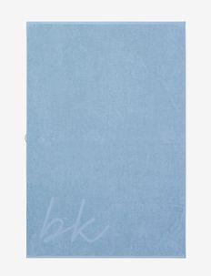 towel 100x150cm - håndklæder - serenity blue