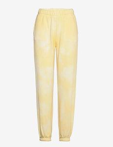 Trousers - sweatpants - sunlight yellow batic