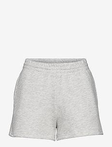 Shorts - casual szorty - silver grey melange